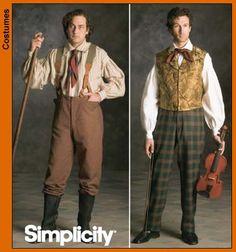 Bilderesultat for 1840s pattern vest