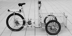XYZ CARGO BIKE / A completely new way of building functional cycles with a focus on local production in a socially just and environmentally sustainable way.