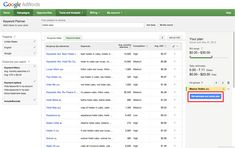 Introducing Keyword Planner: combining the Keyword Tool and Traffic Estimator into One Search Engine Watch, Facebook Trending, Free Seo Tools, Keyword Planner, Seo Keywords, Marketing Articles, Search Engine Marketing, Competitor Analysis, Seo Services