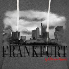 Frankfurt by L'Horizon Apparel - Leichtes Kapuzensweatshirt Unisex