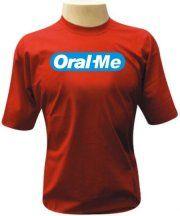 Camiseta Oral-me