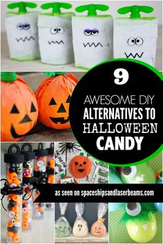 9 DIY Alternatives to Halloween Candy - Spaceships and Laser Beams