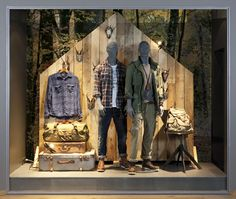 Retail Window Displays | Jack & Jones Window Displays