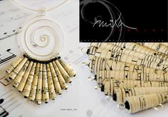 Fall / Winter 2011 – 2012 - Handmade paper jewelry