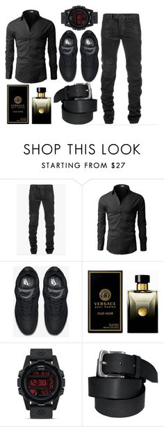 """Brenton Thwaites // Mitchel Black Visual"" by yummyismyname ❤ liked on Polyvore featuring Balmain, NIKE, Versace, Nixon, mens, men, men's wear, mens wear, male and mens clothing"