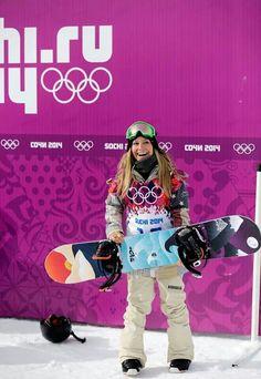 Jamie Anderson American Gold Medal winner Ski Bunnies, Bunny, Olympic Winners, Jamie Anderson, Youth Olympic Games, Gold Medal Winners, Snowboarding Women, Esfp, Olympic Champion