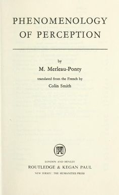 Does anyone know where I could download Merleau-Ponty's