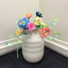 My stuff // paperflowerwreath - paper - flower - paperart - DIY - skidtogkanel - Kirstinekirk