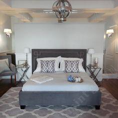MINT GREY New York Style Interiors | produkty - meble; Łóżko GRACE; Curious Headboard