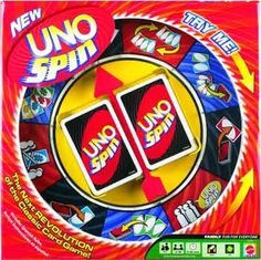 Ready to give UNO a spin' The UNO classic card game goes revolutionary! When a spin card is played, someone must spin the wheel. Will luck be on your side' Will players get to discard cards, be forced to pick up more cards. Go Game, I Am Game, Online Toy Stores, Online Games, Classic Card Games, Uno Cards, Duct Tape Crafts, Family Board Games, Best Kids Toys