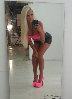 just-by-mistake:  bimboboi:  http://bimboboi.tumblr.com/  You're just a fucktoy, go blond,  get tanned, put your pink heels on and stick out your ass, and never forget to show your tits to everyone !