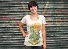 """""""My Jungle Book"""" - Threadless.com - Best t-shirts in the world"""