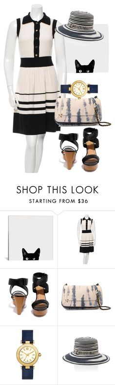 """""""dress"""" by masayuki4499 ❤ liked on Polyvore featuring Milly, Qupid, Jérôme Dreyfuss, Tory Burch and Missoni"""