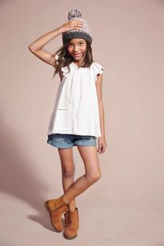 Buy White Patch Blouse (3-16yrs) from the Next UK online shop
