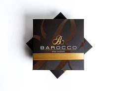 Barocco Luxury Chocolate Packing Design