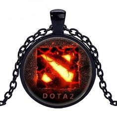 Cheap pendant for men, Buy Quality glass necklace directly from China statement necklace Suppliers: Caxybb brand 2016 New Dota 2 Glass Necklace Collares Glass game necklaces Statement Necklace Pendant For Men Women Gift Glass Necklace, Pendant Necklace, Dota 2, Pocket Watch, Gifts For Women, Collars, Pendants, Stuff To Buy, Necklaces