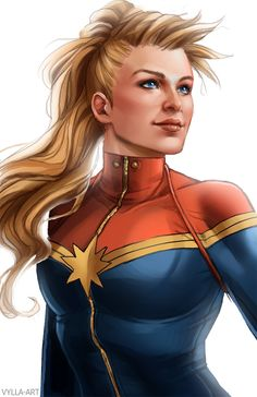 Captain Marvel ♦ vylla-art
