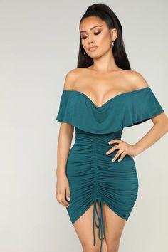 shundefushi Off Shoulder Party Dresses for Women Long Sleeve Elegant Bodycon Evening Formal Dress Wine Red
