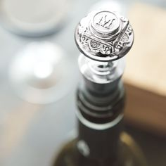Monogrammed Wine Stopper, All Gifts: Olive White Wine, Red Wine, Olive And Cocoa, Custom Wine Bottles, Wine Bottle Stoppers, Wine Wednesday, Sauvignon Blanc, All Gifts, Wine Drinks