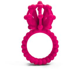 Showtime Cocktail Ring 3D Printed Jewellery Inspired by Science... ❤ liked on Polyvore featuring jewelry, rings, rose jewelry, statement rings, rose ring, cocktail rings and circle ring