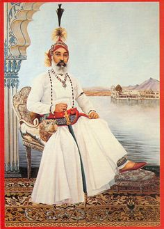 Maharana Arvind Singh Mewar of Udaipur who ruled since being the Maharajah since Udaipur city was found by his ancestor Maharana Udai Singh who was from the Mewar dynasty of the Sisodia Clan which dated back years. Vintage Love, Vintage Photos, King Of India, Duleep Singh, Royal Indian, Leagues Under The Sea, Blue Bloods, Udaipur, Indian Paintings