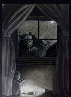 Omg this is exactly the sort of nightmares I had as a child oh noooo !!!