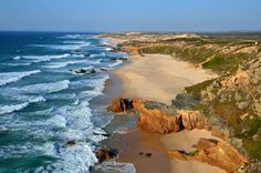 Global Walk: Portugal's hidden gems via Walk magazine With a pair of new walking trails that showcase the pristine coastline and unspoilt countryside of Alentejo, Portugal is proving there's more to its beachside holidays than the resorts of the Algarve… Algarve, Portugal Vacation, Portugal Travel, Portugal Trip, Sea Activities, Dreamy Photography, Holiday Places, Travel Magazines, Places To See