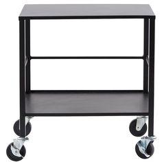 Office rullvagn, svart i gruppen Möbler / Bord / Rullbord hos RUM21.se (130908)