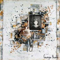 Life by Georgia Heald   The Scrapbook Diaries (MMK96)