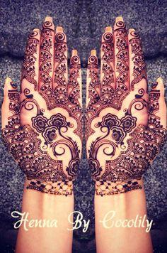 mehndi maharani finalist: Henna By Cocolily