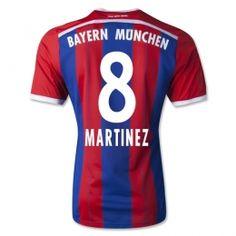 4d50219d3df 14-15 FC Bayern Munich Cheap Martinez #8 Home Replica Jersey 14-15 FC  Bayern Munich Cheap Martinez #8 Home jerseys|cheap FC Bayern Munich soccer  jerseys ...