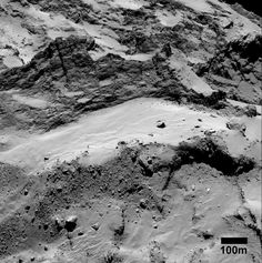 Serqet and Nut-Stunning shots of Rosetta's comet reveal details of regional boundaries