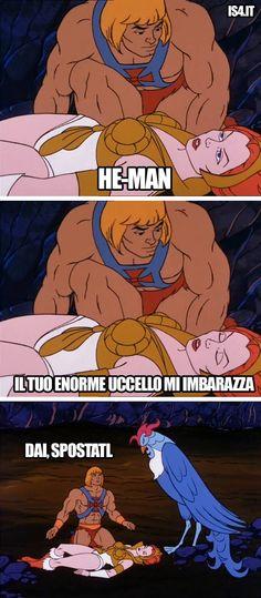 MOTU, Masters Of The Universe meme ita