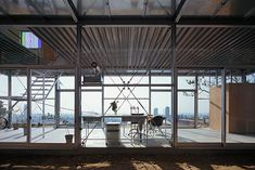 Sunlight, prismatic walls, and steel. House in Rokko by Yo Shimada, Tato Architects