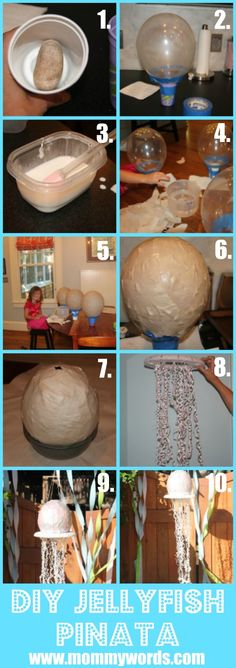 Jellyfish Pinata {Tutorial}