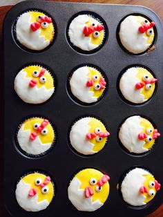 Cupcakes kuiken