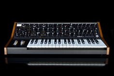 The Sub 37 Tribute Edition is a limited edition (2-note) paraphonic analog synthesizer built on the award winning Sub Phatty sound engine