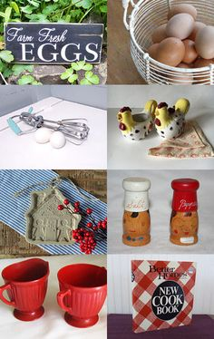 Meemaw's Kitchen - Farmhouse Vintage Team Treasury by Sue Green on Etsy--Pinned with TreasuryPin.com
