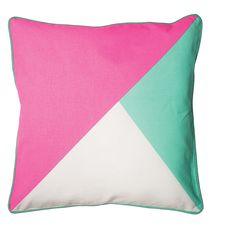 Pink Green Tri Cushion – Shut the Front Door! online