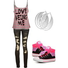 """""""love being me"""" by karlibugg on Polyvore"""