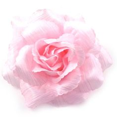 Baby Pink Soft Fabric Corsage  Flower Brooch  Hair Accessory  Hair Clip