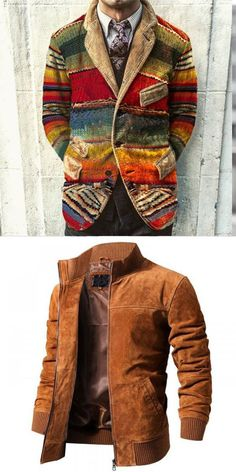 There are a lot of fashion fall & Winter men's coats and jackets you can option. Free shipping on order over $69, shop now! #fall #winter #men #coat #gentleman #jacket Suit Fashion, Fashion Fall, Urban Fashion, Fashion Outfits, Trajes Business Casual, Business Casual Outfits, Tweed Waistcoat, Formal Men Outfit, Men Coat