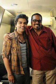 Simbu @ Vettai Mannan Tamil Movie On Location