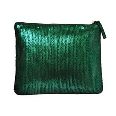 Sequin Clutch Emerald Green, $35, now featured on Fab.