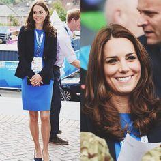 Day 2: Glasgow Commonwealth games #katemiddleton