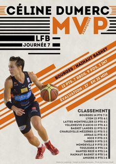Céline Dumerc - MVP Française - LFB Journée #7
