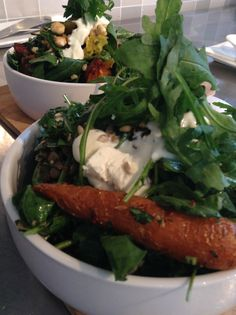 Open as per usual this holiday. Nip in and tuck in to a luxe deli salad!