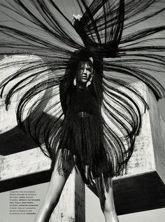 Kasia Struss by Sebastian Kim for Numéro #131