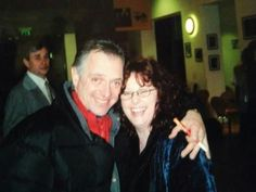 The first time I met the amazing  Rik Mayall after a play in Malvern.