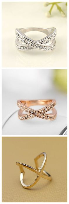 """If you've been dying to get your hands on a more affordable version of that crisscross ring celebs and style bloggers have been loving, you're in luck. You can buy a gorgeous lookalike–that won't fade after just a few wears–right from Lightinthebox. All in a reasonable price.Plus FREE Shipping! Use coupon code """"PTM11010"""" for better deal!"""